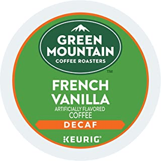 Green Mountain Coffee Roasters French Vanilla Decaf, Single-Serve Keurig K-Cup Pods,..