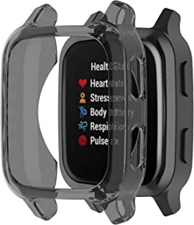 E ECSEM Case Compatible with Garmin Venu Sq Band Protector Case Soft TPU Scractch-Resist Frame Protective Cover Shell for ...