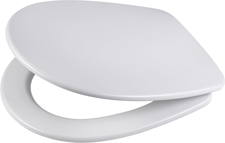 DIAQUA Toilet Seat all in one Brest 39, 5–44,5  x 36 CM, White, 31163641