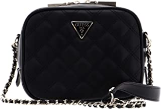 Guess Womens Cross-Body Handbag, Black - VG767969