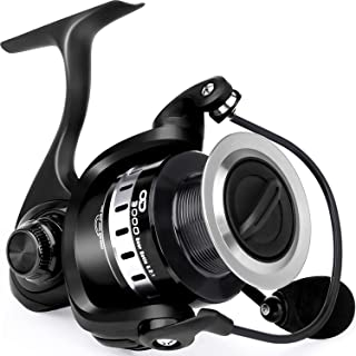 ODDSPRO Fishing Reel, Light Weight Spinning Reel, Ultra...
