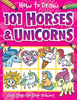 How to Draw 101 Horses and Unicorns