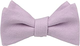 dusty lavender bow tie