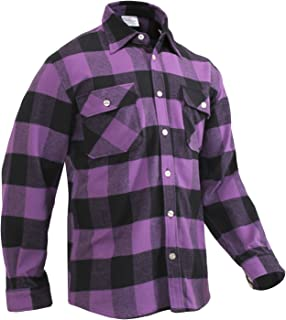 Heavyweight Plaid Flannel Shirt