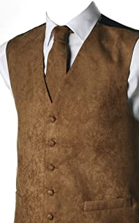 Suede Effect 10 Colours for Man Vest – Available Matching Tie