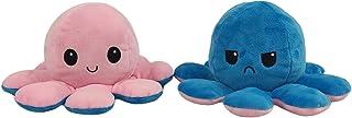 YANLE Octopus Knuffels Omkeerbare Octopus Knuffel Dubbelzijdige Flip Octopus Pop Zachte Omkeerbare Octopus Knuffel Pop Cad...