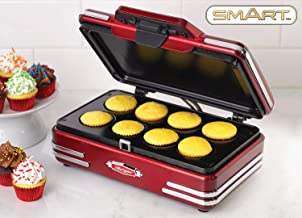Smart Retro Mini Cupcake Maker Bundle con jarra medidora