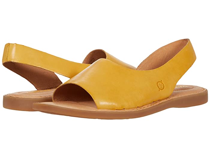Born  Inlet (Yellow) Womens Shoes
