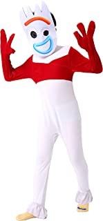 FORyou Boys Girls Jumpsuit Halloween Costumes for Children Party Cosplay Outfits with Mask Kids Role Dress up Suit