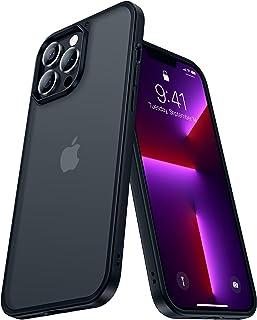 CASEKOO Matt Power Kompatibel mit iPhone 13 Pro Max Hülle 2021, [SGS-Militärschutz] Stoßfeste Handyhülle (Anti-Fingerabdru...