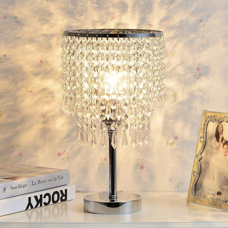 Meters Modernes unbedeutendes Wohnzimmer Kristall Tischlampe Tischlampe Tischlampe Schlafzimmer Nachttischlampe kreative Kristall Knopfschalter 902 B072JPSQHT     8b9875