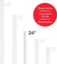 Honeywell 24in. Direct Wire Fixture, White, Selectable Brightness, LED Strip, Under Cabinet, Accent, Kitchen Light, 45368