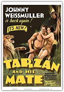 Best johnny weissmuller tarzan movie posters Reviews