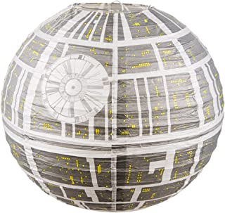 Star Wars Estrella de la Muerte Lámpara Sombrilla de Papel