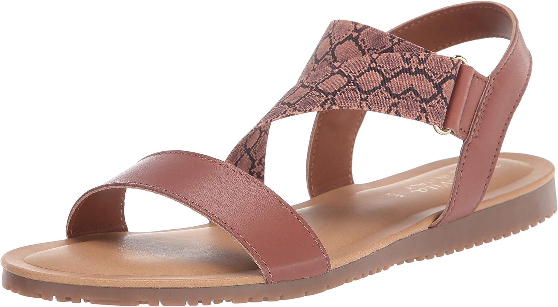待望 [宅送] Bella Vita Women's Flat Sandal
