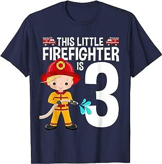 This Little Firefighter Birthday Fire Truck Theme Birthday G
