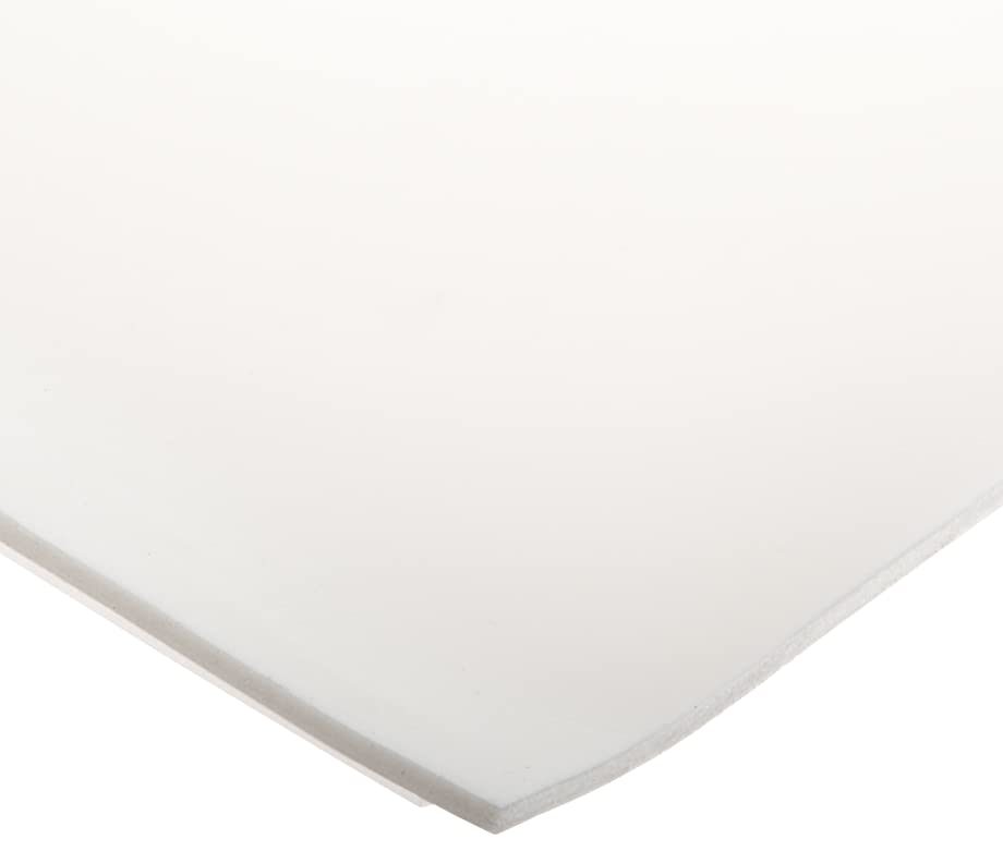 CS Hyde Silicone Foam, Open Cell, Commercial Grade, Light Density, 0.125