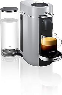 De'Longhi Nespresso Vertuo Plus ENV 155.S Kaffekapselmaskin Perfekt Kräm Tack Vare Centrifusionsteknik Inkl. Välkomstpaket...
