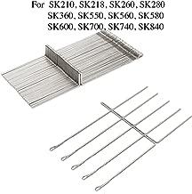 50pcs/set Knitting Machine Needle Steel Needles Set For Reed Singer Studio SK210 SK260 SK280 SK328 SK326 SK840 SK580 Knitting Machine Durable Fabric Sewing DIY Craft Tools