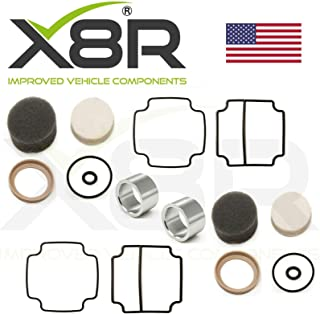 X8R REPAIR AIR SUSPENSION COMPRESSOR PISTON LINER & SEAL TWIN REBUILD KIT APPLICABLE TO LAND ROVER RANGE ROVER CLASSIC Part # X8R36 / X8R0036