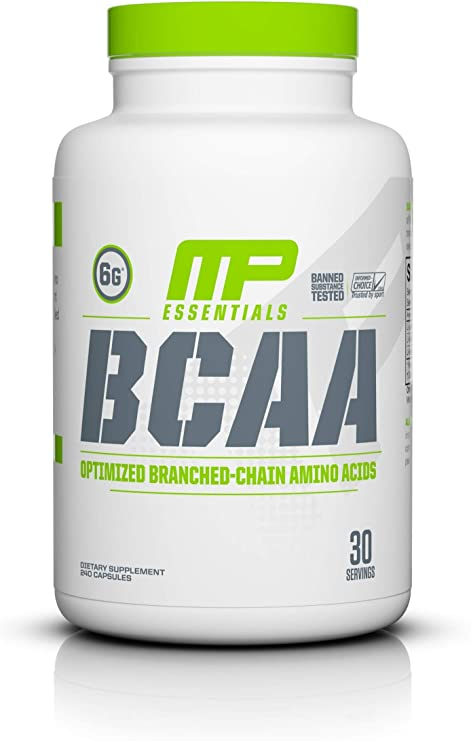 Musclepharm BCAA 3: 1: 2 Cápsulas pack de 240