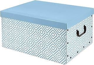 Compactor Nordic Baulotto, Carton, Bleu Baltique, 50x 40x 25cm