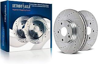 Brembo Pair Set of 2 Rear Disc Brake Rotors 288mm for Highlander RX330 RX350