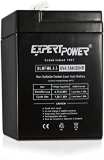 ExpertPower EXP645 6V 4.5 Amp Rechargeable Battery