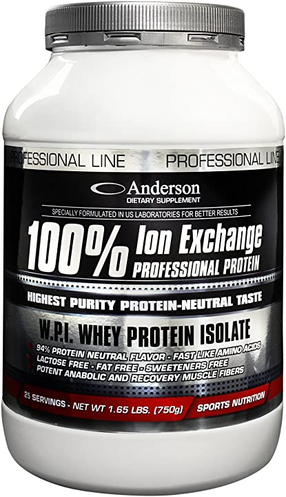 Sieroproteine isolate a scambio ionico (2kg)  whey protein professional  anderson 100% AIEPN2000