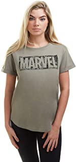 Marvel Comic Logo Camiseta para Mujer