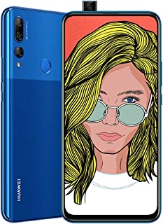 Huawei Y9 Prime 2019 Smartphone, Dual-SIM Mobile Phone with 6.59'' Ultra FullView Display, Auto Pop-up Rear Triple Camera, 4GB RAM+128GB ROM, Blue-Australian Version