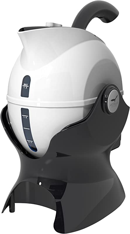 Uccello Kettle Ergonomic Design Electric Kettle And Tipper White