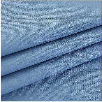 VmG-Store - Tela de algodón para costura de niños (150 cm de ancho), diseño de estrellas usadas, Ba018 Contorno azul vintage., 50 x 150cm: Amazon.es: Hogar