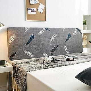 NHK-MX Funda de cabecero de Cama Elástica a Prueba de Polvo Protectora de Cabeceros de Cama Dibujos Animados Decoración de Dormitorio (Color : 21, Size : 220cm)