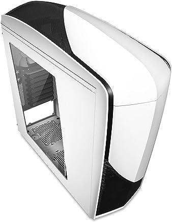 NZXT CA-PH240-W1 Phantom Mid Tower Computer Case, White