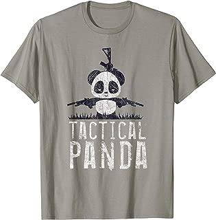 PANDA T-SHIRT, BATTLE PANDA BEAR, GIFT