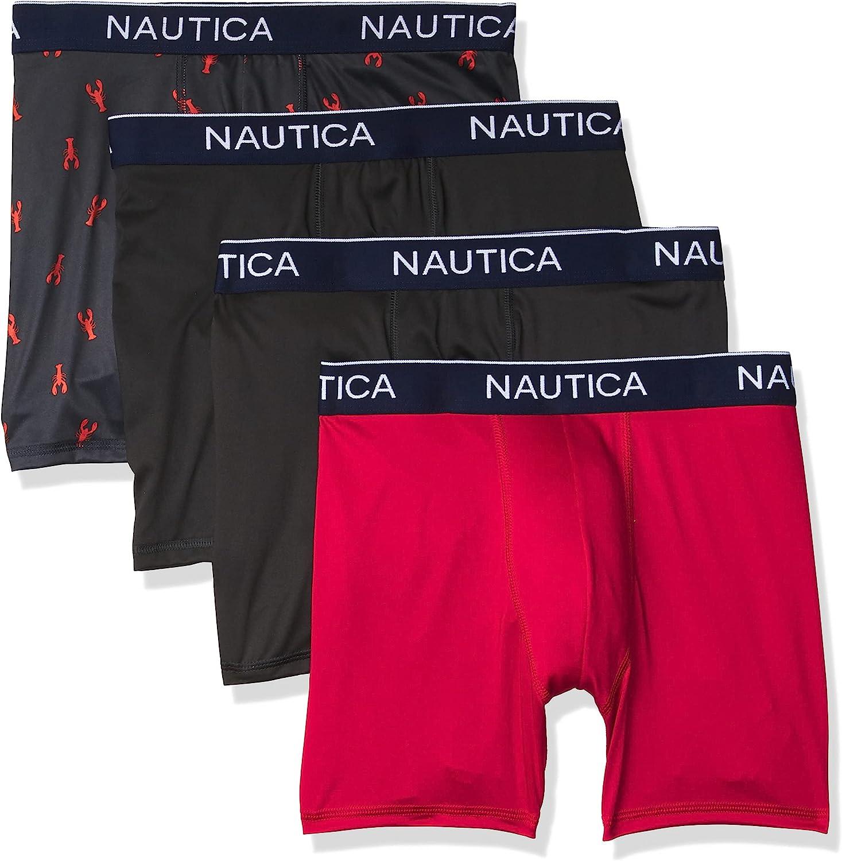 Nautica Men's 4 Pack Micro Boxer Brief