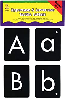 Ideal School Supply Tactile Letters Kit