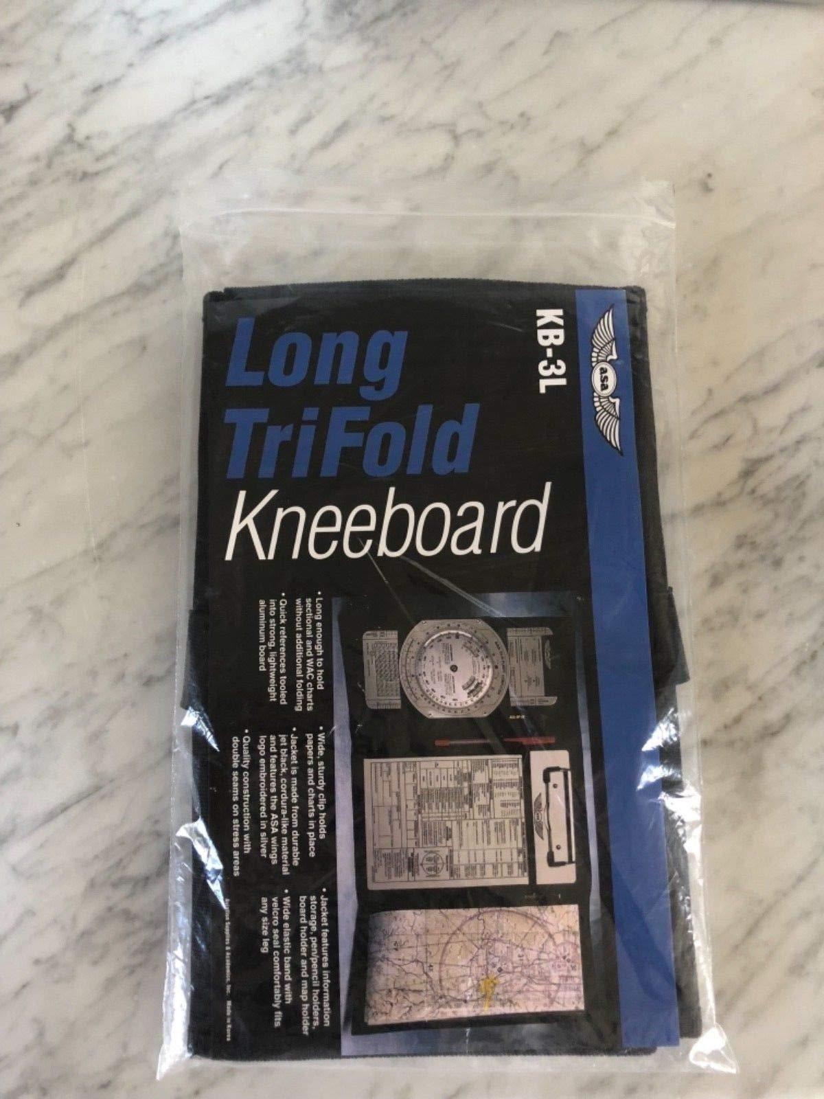ASA Long VFR TriFold Kneeboard