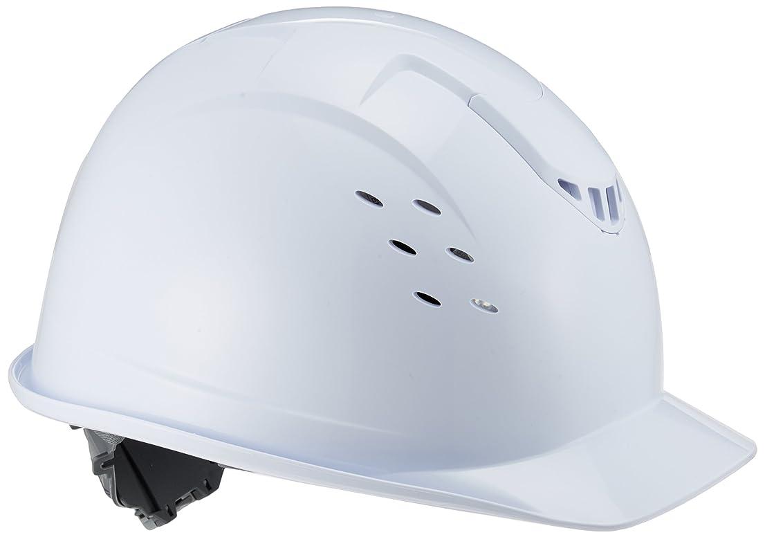 媒染剤凍るファントムミドリ安全 ベンチレーション ヘルメット 一般作業用 通気孔付 SC13BV RA KP付 ホワイト