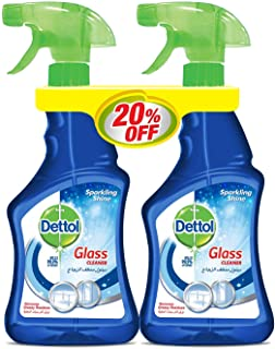 Dettol Glass Cleaner Trigger Twin Pack At 20% Off
