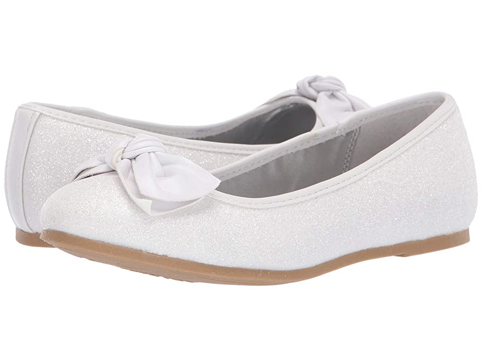 Nina Kids Liza (Little Kid/Big Kid) (White) Girls Shoes