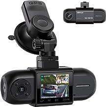 Campark Dashcam Dual FHD 1080P Vorne und Hinten, Autokamera mit GPS, Akku und..