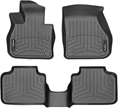 2nd Row WeatherTech Custom Fit FloorLiner for Mini Countryman Black