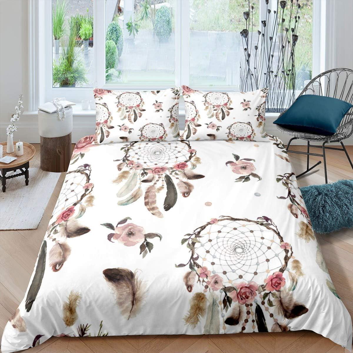 New mail order Dreamcatcher Bedding Set for Girls Catcher Women Nashville-Davidson Mall Dream Comf Boho