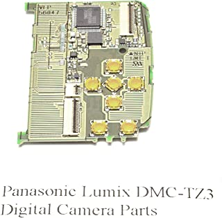 Genuine Panasonic Lumix DMC-TZ3 Rear Control Board - Replacement Parts