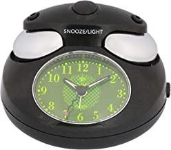 Dojana Alarm Clock, Analog, DA2009-GOLD-BLACK