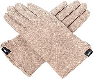 Women's Winter Wool Knit Gloves Touchscreen Texting...