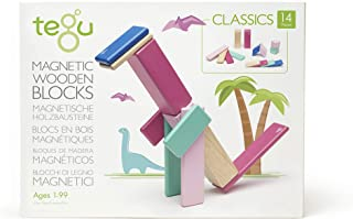 Tegu 14P-BSM-607T Magnetic Wooden Blocks 14pc - Blossom