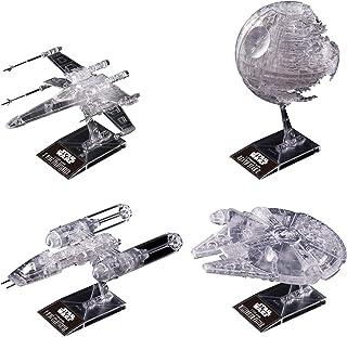 スター・ウォーズ 1/144 & 1/350 & 1/2700000 「スター・ウォーズ/ジェダイの帰還」 クリアビークルセット プラモデル
